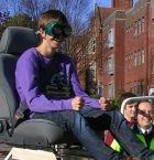 Pupil in driving seat